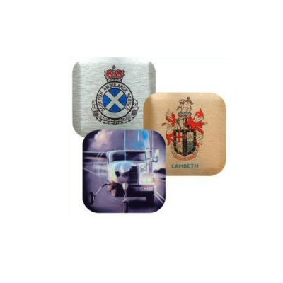 89MM Aluminium Metal Coasters