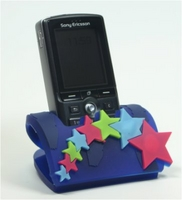 2D Soft PVC Mobile Phone Holders